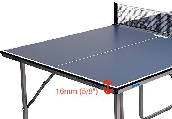Joola Midsize Ping Pong Table Thickness