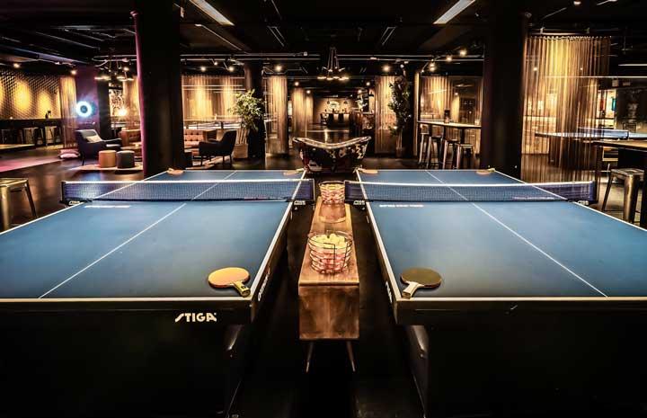 Spin New York Venue Ping Pong Club