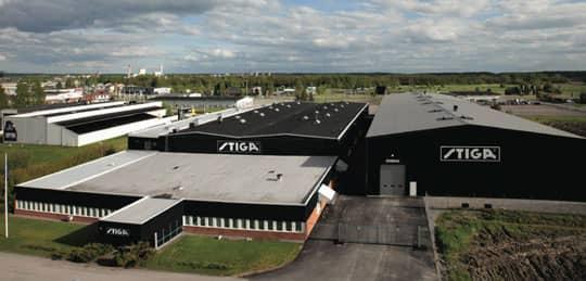Stiga Factory Sweden