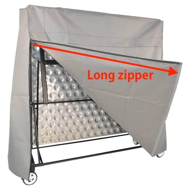 Kettler Table Tennis Cover Full Length Zipper